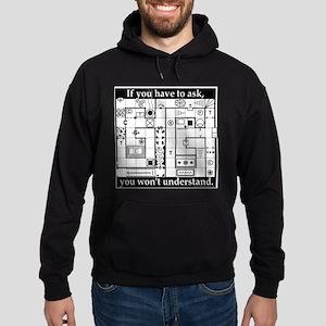 Dungeon Crawl Map - Sweatshirt