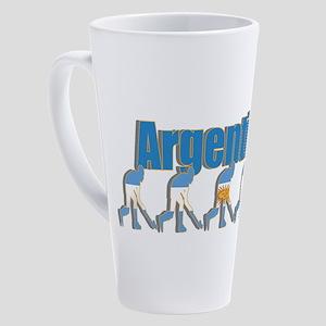 Argentina Field Hockey 17 Oz Latte Mug