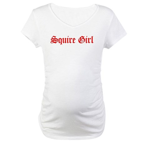 Squire Girl Maternity T-Shirt