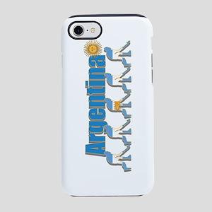 Argentina Field Hockey iPhone 8/7 Tough Case