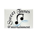 Sweet Tunes Rectangle Magnet (10 pack)