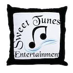 Sweet Tunes Throw Pillow