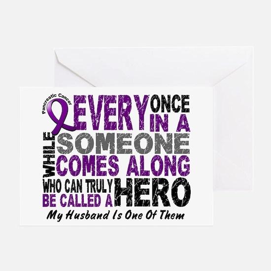 Hero Comes Along Husband Pancreatic Cancer Greetin