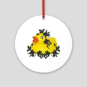 dUcK tHe hAllS! Ornament (Round)
