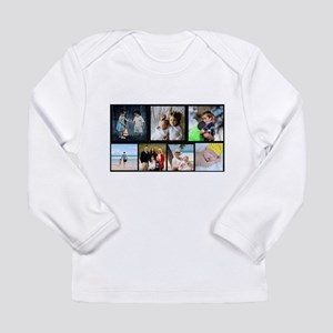 7 Photo Family Collage Long Sleeve T-Shirt