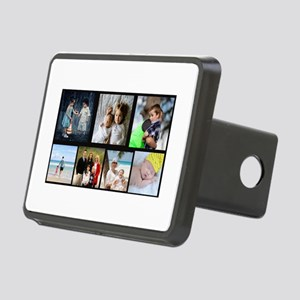 7 Photo Family Collage Hitch Cover