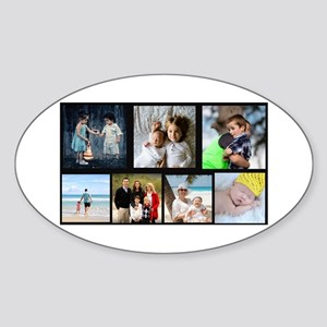 7 Photo Family Collage Sticker