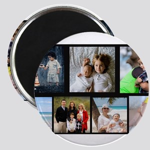 7 Photo Family Collage Magnets