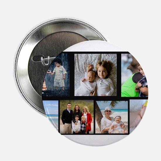 "7 Photo Family Collage 2.25"" Button"