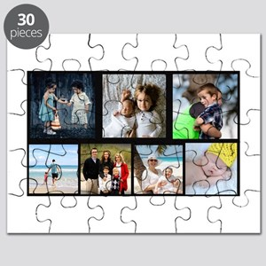 7 Photo Family Collage Puzzle