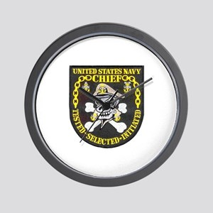 Chief Petty Officer Wall Clock