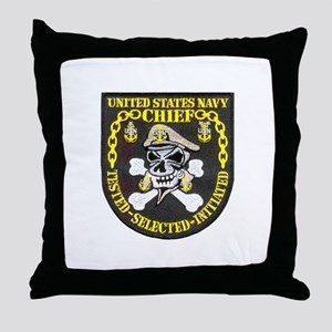 Chief Petty Officer Throw Pillow