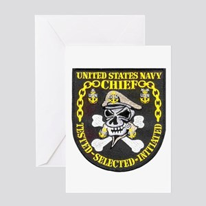 Chief Petty Officer Greeting Card