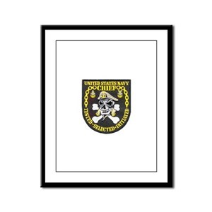 Chief Petty Officer Framed Panel Print