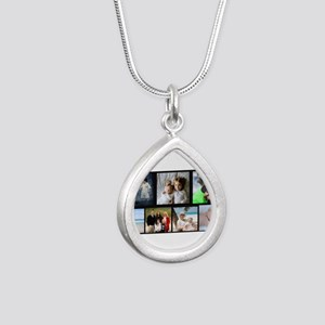 7 Photo Family Collage Necklaces