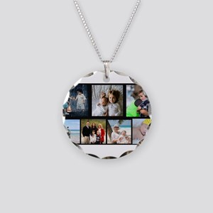 7 Photo Family Collage Necklace