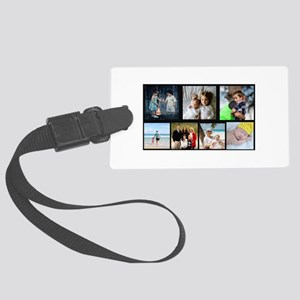 7 Photo Family Collage Luggage Tag