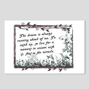 The Dream Miracle quote Postcards (Package of 8)