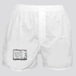 The Dream Miracle quote Boxer Shorts