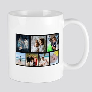 7 Photo Family Collage Mugs