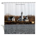Tibbetts Point Lighthouse Shower Curtain