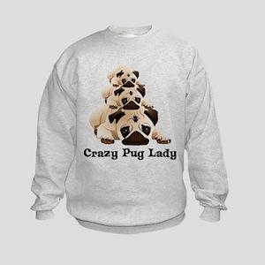Crazy Pug Lady Sweatshirt