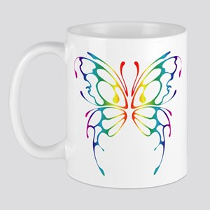 Rainbow Wings Mug