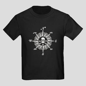 Compass Rose II Kids Dark T-Shirt