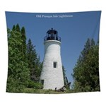 Old Presque Isle Lighthouse Wall Tapestry