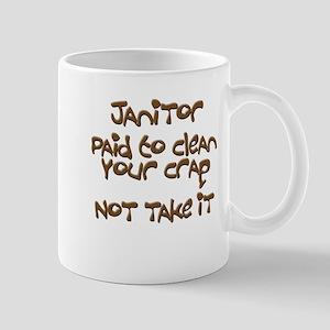 funny janitor Mugs