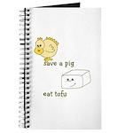 Save a Chicken Eat Tofu Journal