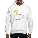 Save a Chicken Eat Tofu Hooded Sweatshirt