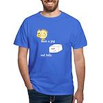 Save a Chicken Eat Tofu Dark T-Shirt