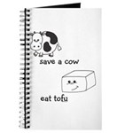 Save a Cow Eat Tofu Journal