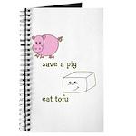 Save a Pig Eat Tofu Journal