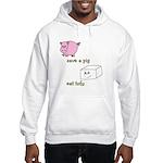 Save a Pig Eat Tofu Hooded Sweatshirt