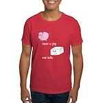 Save a Pig Eat Tofu Dark T-Shirt