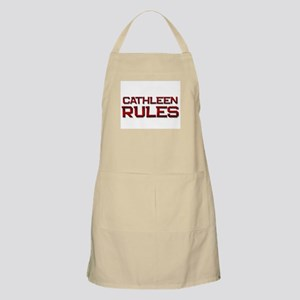 cathleen rules BBQ Apron