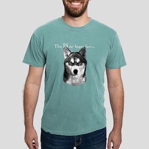 Husky Happy Face T-Shirt