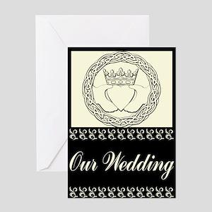 Claddagh Wedding Invitation Set Greeting Card