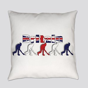 Britain Field Hockey Everyday Pillow
