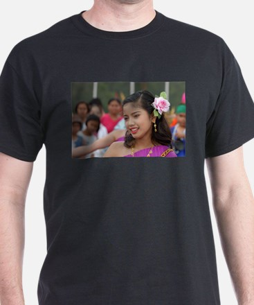Thai Dancer Black T-Shirt