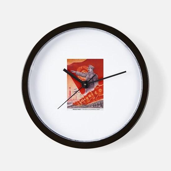 Cute Stalin Wall Clock