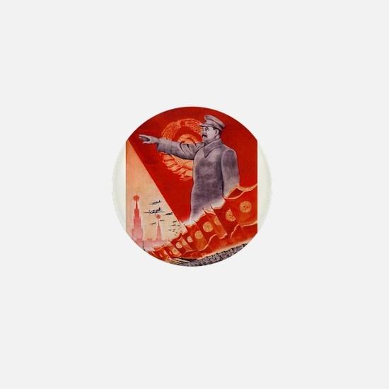 Unique Stalin Mini Button