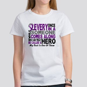 Hero Comes Along Dad Shirt Women's T-Shirt