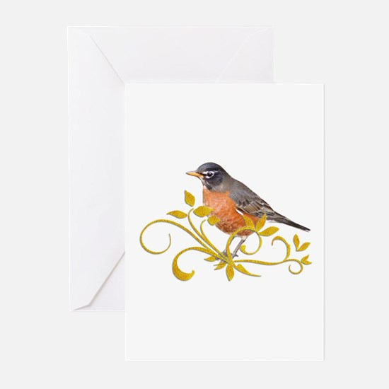 Robin Greeting Cards (Pk of 10)