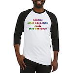 Rainbow PREVENT NOISE POLLUTION Baseball Jersey