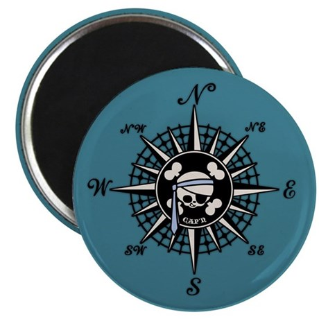 """Compass Cap'n Pappy 2.25"""" Magnet (10 pack)"""