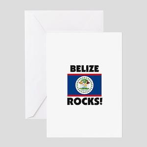 Belize Rocks Greeting Card