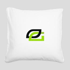 Optic Square Canvas Pillow